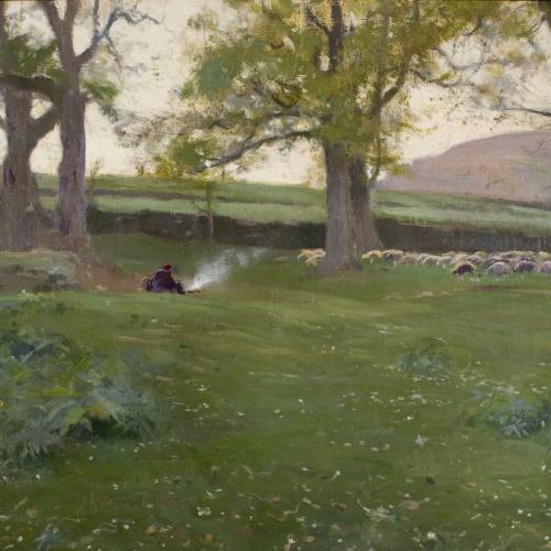 Joaquim Mir - Around Olot - Circa 1894