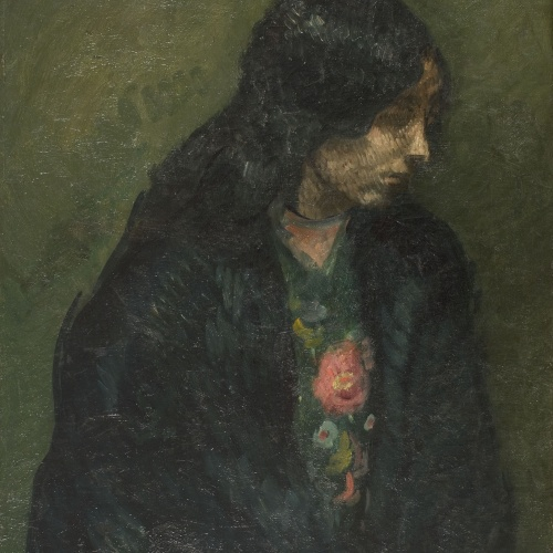 Isidre Nonell - Soledad - Barcelona, 1906