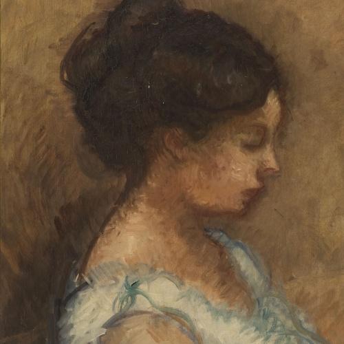 Isidre Nonell - Julia - Barcelona, 1908