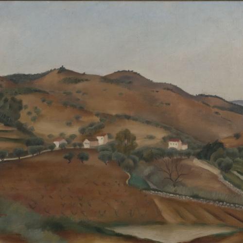 Josep de Togores - Voltants de Bandòu - Bandòu, 1923