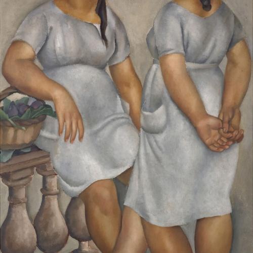 Josep de Togores - Noies catalanes - Banyuls, 1921