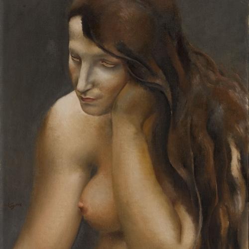 Josep de Togores - Tors de dona - París, 1923