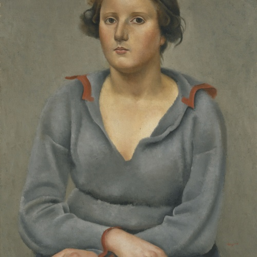 Josep de Togores - Dona asseguda - París, Cap a 1922