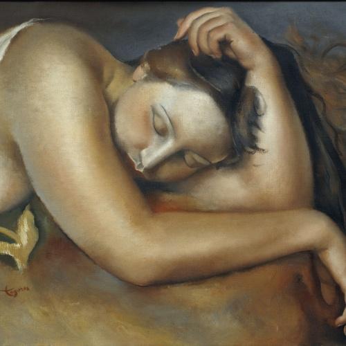 Josep de Togores - Noia dormint - París, 1923