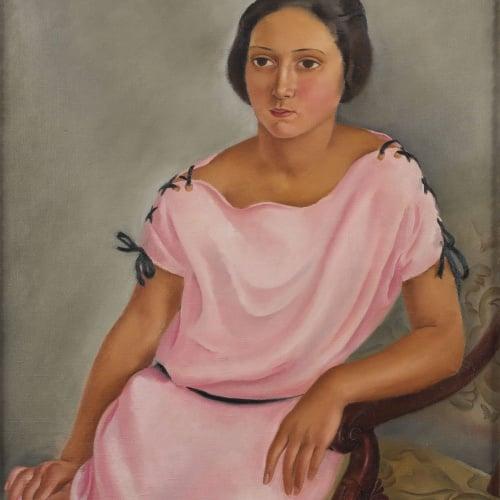 Josep de Togores - Retrat de Mlle. Rosette Parmentier - 1923
