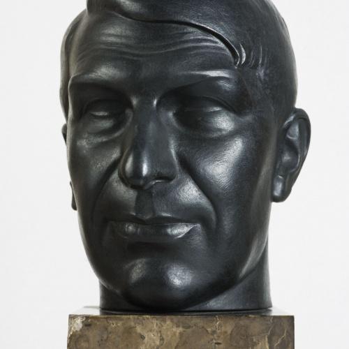 Pablo Gargallo - Retrat del pintor Xavier Nogués - 1924
