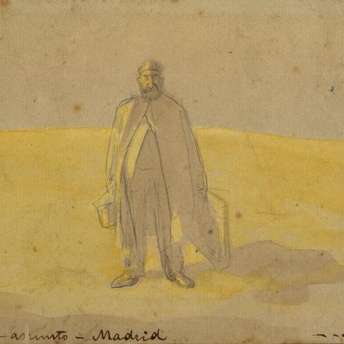 Ramon Casas - Buscan asunto. Madrid (Looking for a subject. Madrid) - Circa 1904