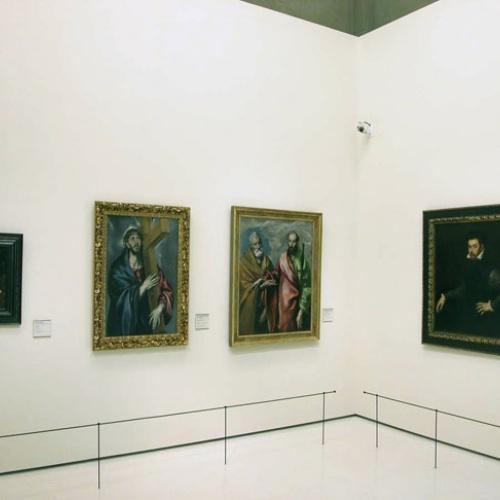 Doménikos Theotokópoulos (El Greco) - Sant Pere i sant Pau - Entre 1590-1600 [1]
