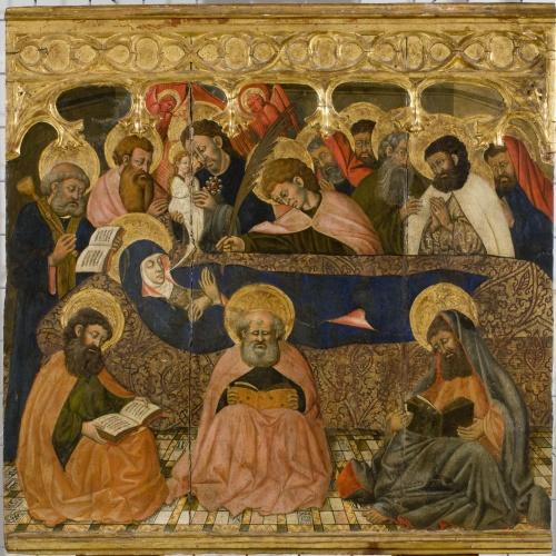 Segon Mestre d'Estopanyà - Dormició de la Mare de Déu - Cap a 1450