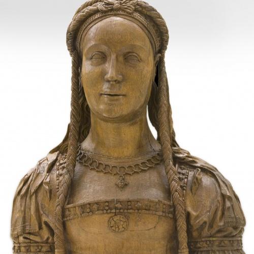 Pasquier Borman - Bust reliquiari d'una santa verge - Entre 1520-1530