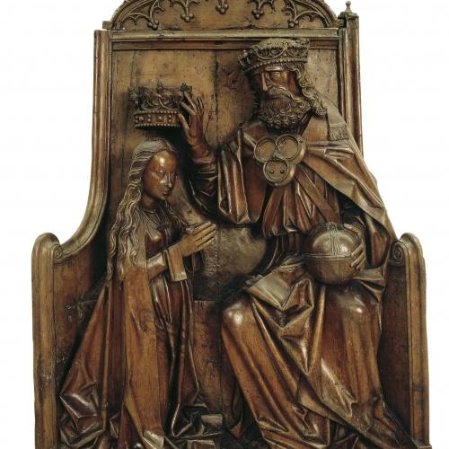 Anònim. Escola centreeuropea - Coronació de la Mare de Déu - Finals del segle XV