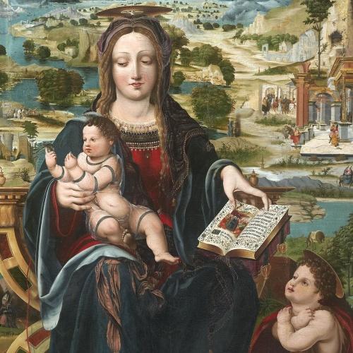 Joan de Burgunya - Mare de Déu amb el Nen i sant Joanet - Entre 1515-1525 [3]