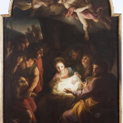 Carlo Giuseppe Ratti - Adoration of the Shepherds - 1773