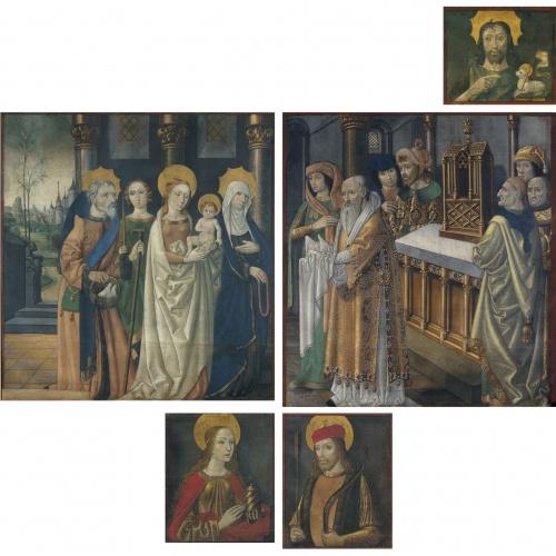 Mestre de la Seu d'Urgell - Paintings from the doors of the organ from La Seu d'Urgell cathedral - Circa 1495-1498