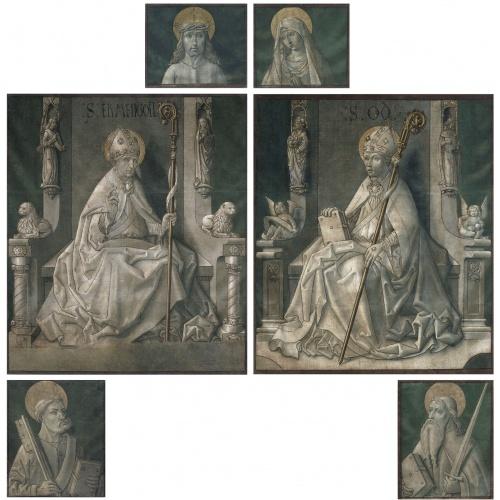 Mestre de la Seu d'Urgell - Paintings from the doors of the organ from La Seu d'Urgell cathedral - Circa 1495-1498 [1]