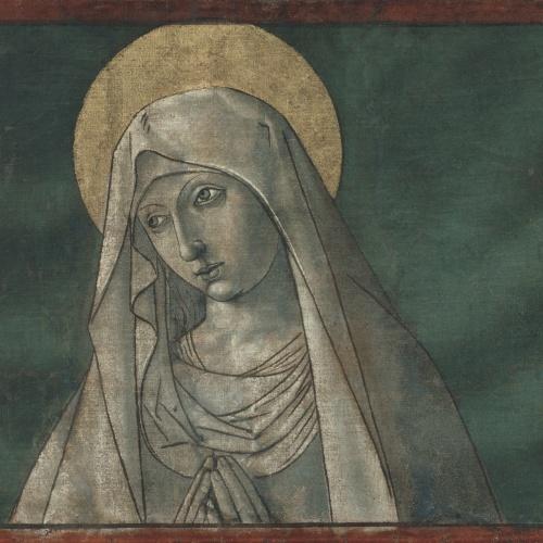Mestre de la Seu d'Urgell - Mare de Déu - Cap a 1495-1498