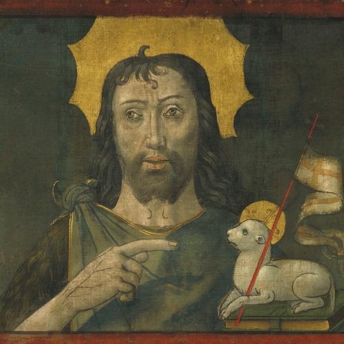 Mestre de la Seu d'Urgell - Sant Joan Baptista - Cap a 1495-1498
