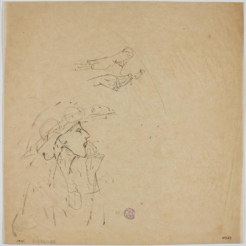 Francesc Xavier Gosé - Lady smoking - Circa 1912