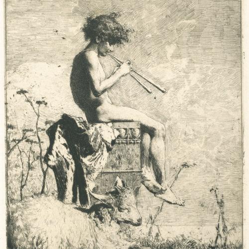 Marià Fortuny - Idil·li - 1865