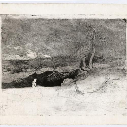 Marià Fortuny - Anacoreta - Cap a 1869