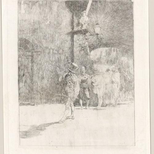 Marià Fortuny - Ronda nocturna - Cap a 1863-1865