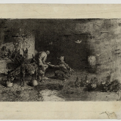 Marià Fortuny - Moroccan Horseshoer - Circa 1863
