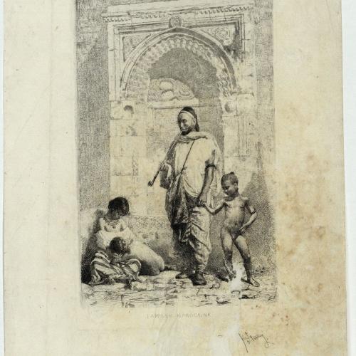 Marià Fortuny - Famille marocaine (Família marroquina) - 1862