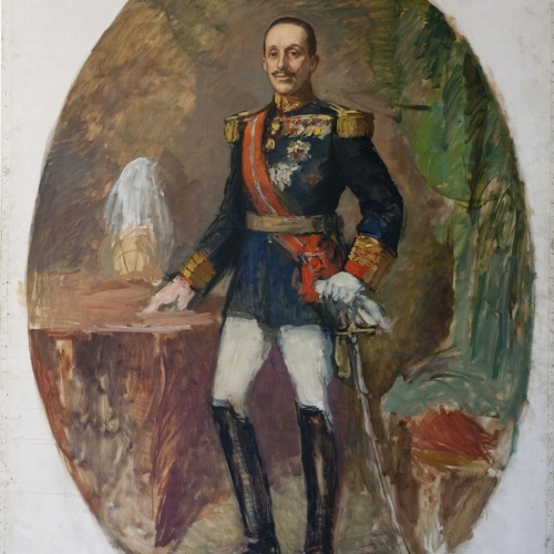 Ricard Canals - Portrait of King Alfonso XIII - Circa 1931