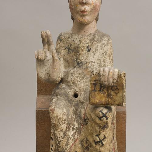 Anònim - Nen Jesús d'una Mare de Déu - Segle XIII