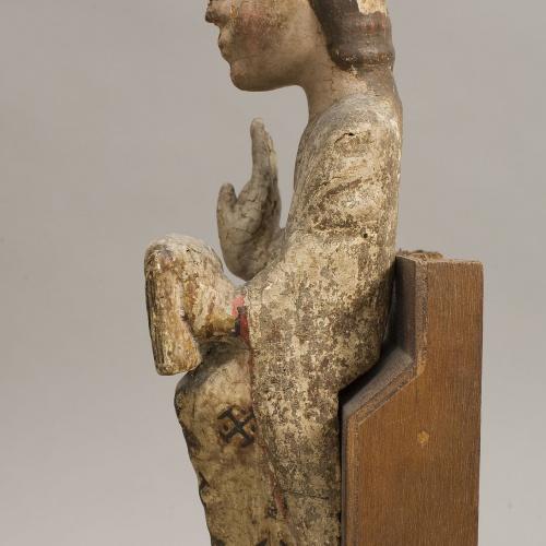 Anònim - Nen Jesús d'una Mare de Déu - Segle XIII [1]