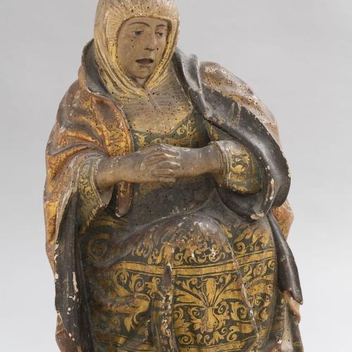 Anònim. Aragó - Figures femenines d'un Sant Sepulcre - Entre 1520-1530 [1]