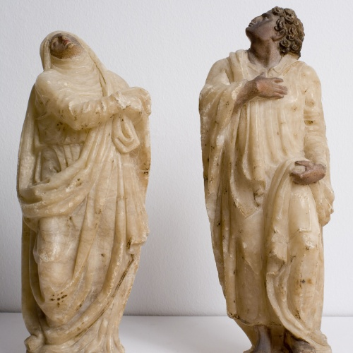 Juan de Anchieta - Virgin and Saint John the Evangelist at the Foot of the Cross - 1565-1575