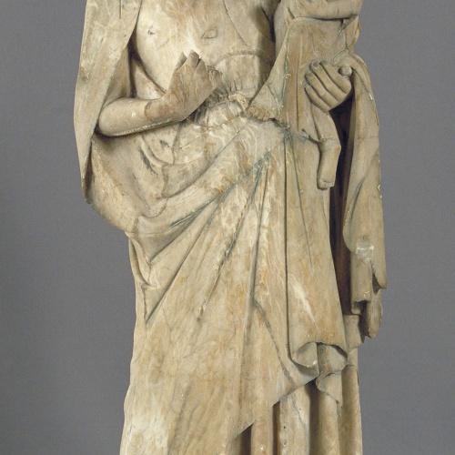 Anònim. Catalunya - Mare de Déu - Segon quart del segle XIV
