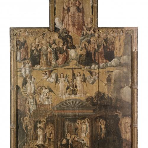 Vicent Macip - Retaule del Judici final i la missa de sant Gregori - Entre 1500-1520