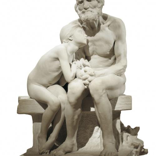 Miquel Blay - Els primers freds - Roma, 1892