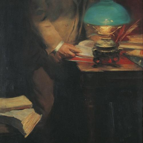 Lluís Graner - Retrat del crític d'art i escriptor Raimon Casellas - 1894