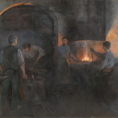 Lluís Graner - La ferreria - 1894