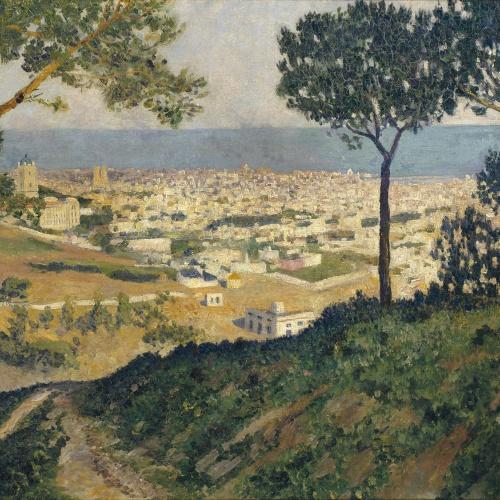 Darío de Regoyos - Barcelona des de Vallvidrera - 1912