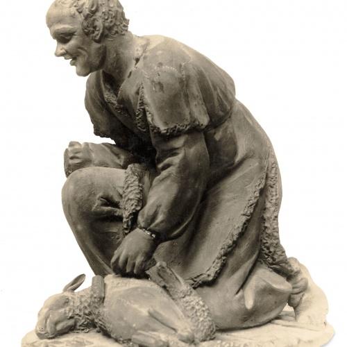 Damià Campeny - Pastor amb xai - Cap a 1815-1840