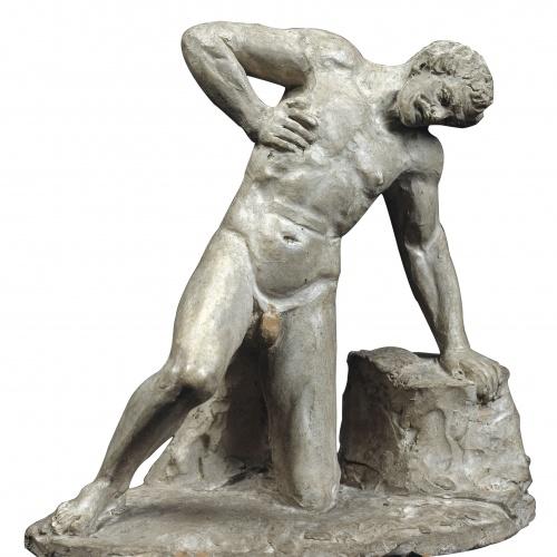 Damià Campeny - Gal ferit - 1815-1840