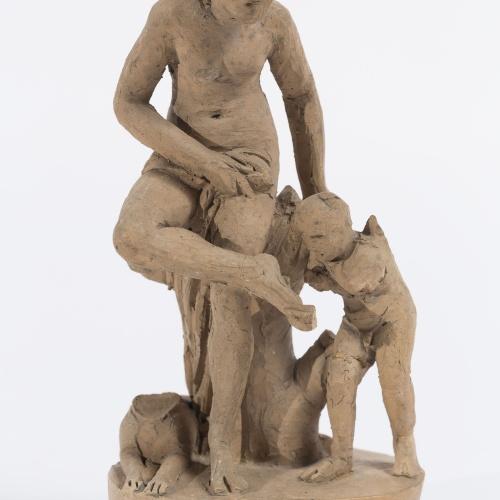 Damià Campeny - Cupidell amb Venus - Cap a 1815-1840