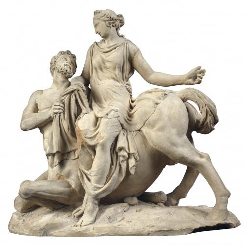 Damià Campeny - El rapte de Deianira pel centaure Nessos - Cap a 1835
