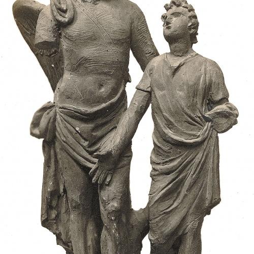 Damià Campeny - L'arcàngel sant Rafael amb el jove Tobies - Cap a 1815-1840