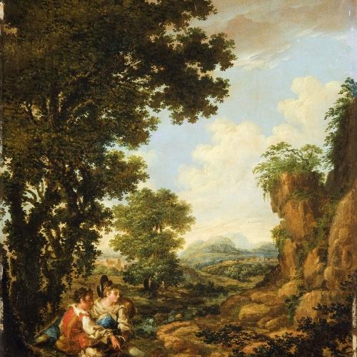 Pau Rigalt - Pastoral - Circa 1830-1840