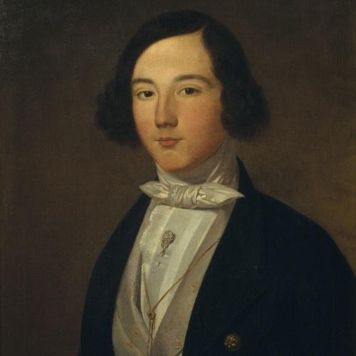 Joaquim Espalter - Retrat d'Octavi Carbonell i Sanroman - Barcelona, 1842