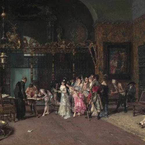 Marià Fortuny - La vicaria - Roma 1868-1869. París 1870