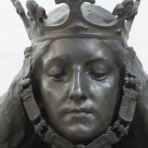 Eusebi Arnau - Bust de matrona representant Barcelona - 1897 [2]