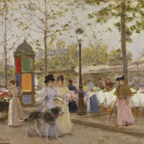 Francesc Miralles - Primavera - Hacia 1896