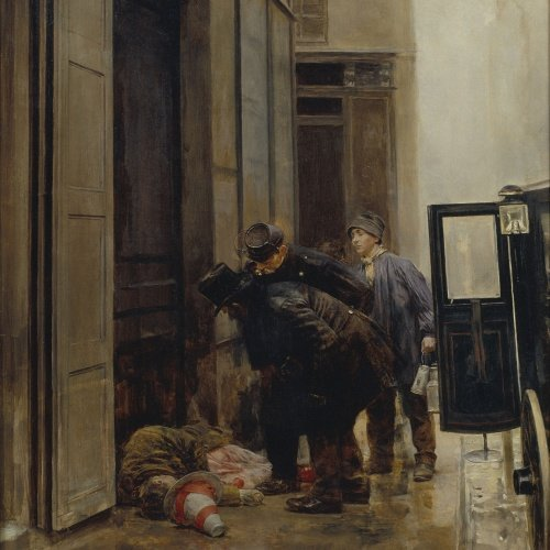 Romà Ribera - Epíleg d'un ball de màscares - Cap a 1891