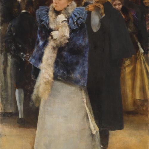 Romà Ribera - Sortida del ball - Cap a 1894